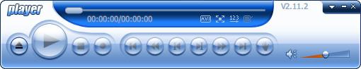 Player(DAV大华监控播放器)v2.11.2绿色单文件版-支持格式:dav、dev、264、mpg、mp4