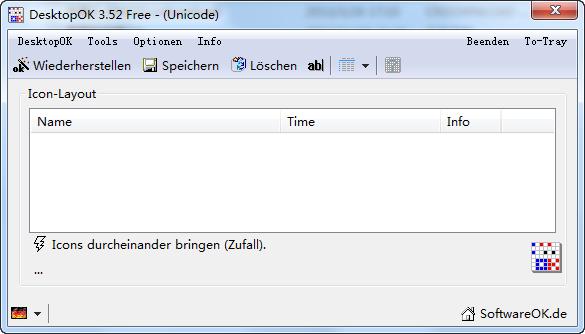 DesktopOK V5.81.0 桌面图标修复工具绿色免费优化版