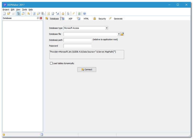 ASPMaker V2018.0.5 网站后台制作工具绿色免费优化版