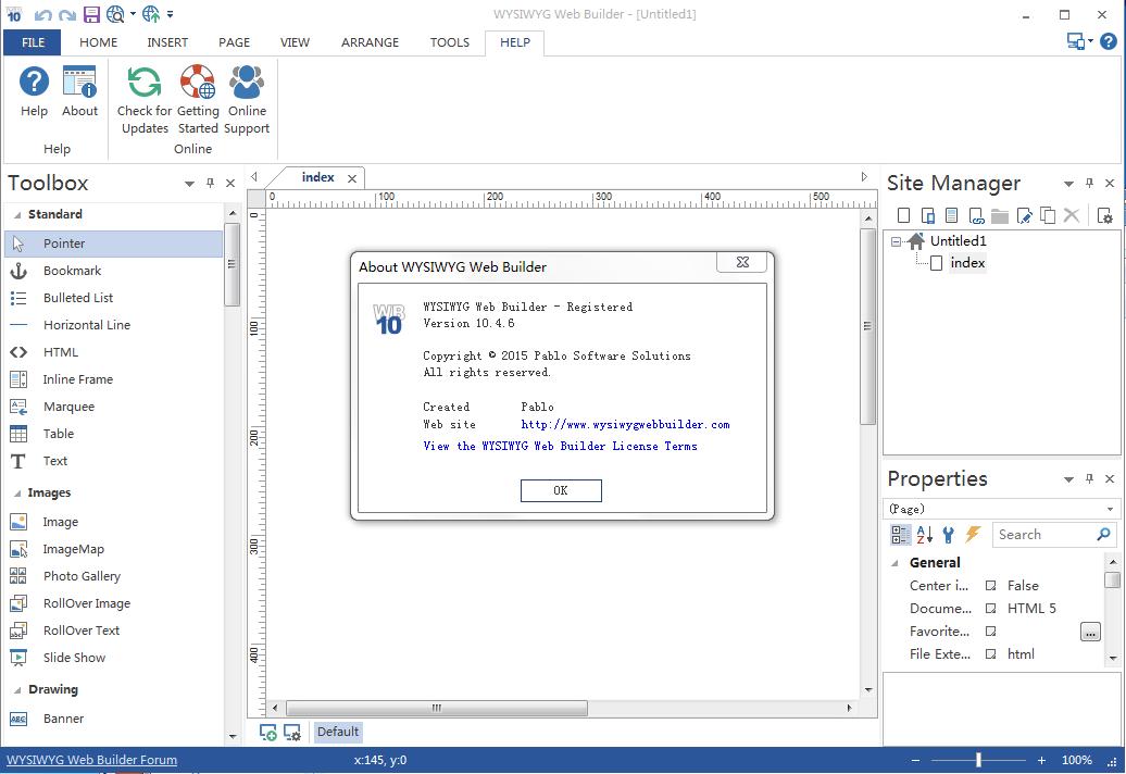 网页生成工具WYSIWYG Web Builder v14.3.6正式版免费下载