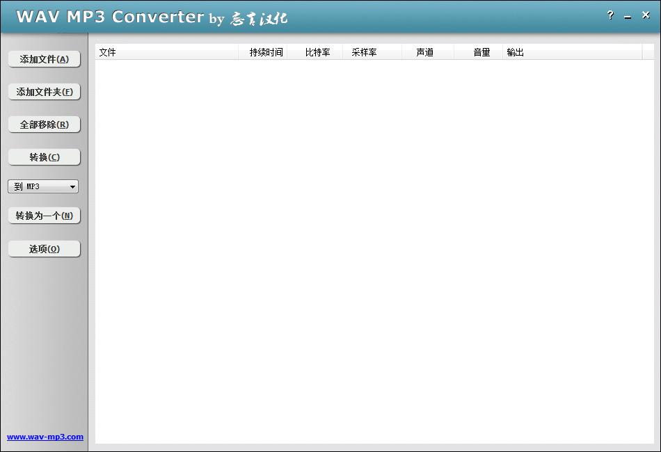 WAV MP3 Converter( 格式转换)下载 v4.3.2绿色版