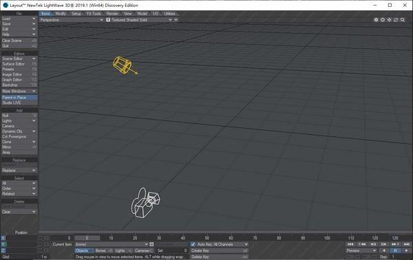 NewTek LightWave 3D动画制作软件下载 v2020